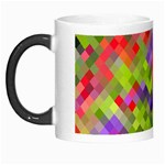Colorful Mosaic Morph Mugs Left