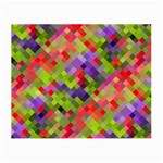 Colorful Mosaic Small Glasses Cloth Front