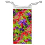 Colorful Mosaic Jewelry Bags Front