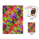 Colorful Mosaic Playing Card Back