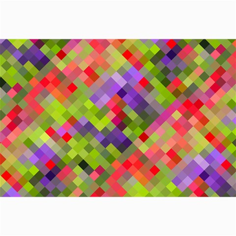 Colorful Mosaic Collage Prints