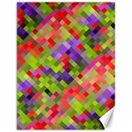 Colorful Mosaic Canvas 12  x 16   16 x12 Canvas - 1