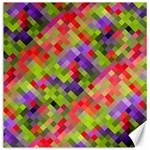 Colorful Mosaic Canvas 20  x 20   20 x20 Canvas - 1