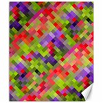 Colorful Mosaic Canvas 20  x 24   24 x20 Canvas - 1