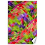 Colorful Mosaic Canvas 24  x 36  36 x24 Canvas - 1