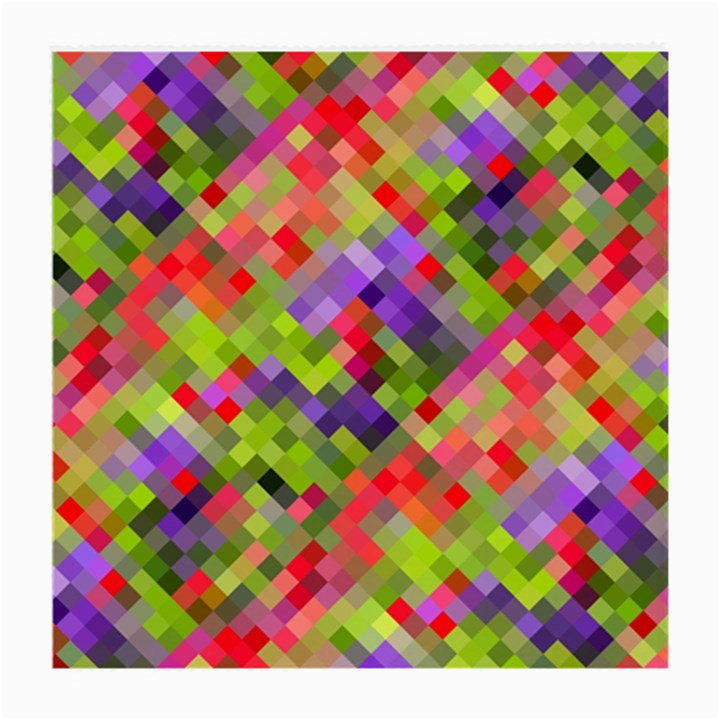 Colorful Mosaic Medium Glasses Cloth (2-Side)