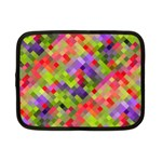 Colorful Mosaic Netbook Case (Small)  Front