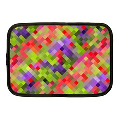 Colorful Mosaic Netbook Case (Medium)