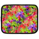 Colorful Mosaic Netbook Case (Large) Front