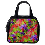 Colorful Mosaic Classic Handbags (2 Sides) Back