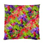Colorful Mosaic Standard Cushion Case (One Side) Front