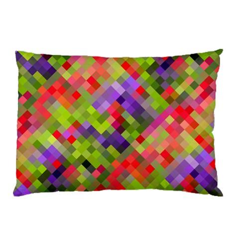 Colorful Mosaic Pillow Case