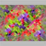 Colorful Mosaic Mini Canvas 7  x 5  7  x 5  x 0.875  Stretched Canvas
