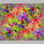 Colorful Mosaic Canvas 10  x 8  10  x 8  x 0.875  Stretched Canvas