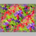 Colorful Mosaic Canvas 16  x 12  16  x 12  x 0.875  Stretched Canvas