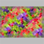 Colorful Mosaic Canvas 18  x 12  18  x 12  x 0.875  Stretched Canvas