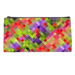 Colorful Mosaic Pencil Cases Front