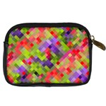 Colorful Mosaic Digital Camera Cases Back