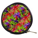 Colorful Mosaic Mini Makeup Bags Front