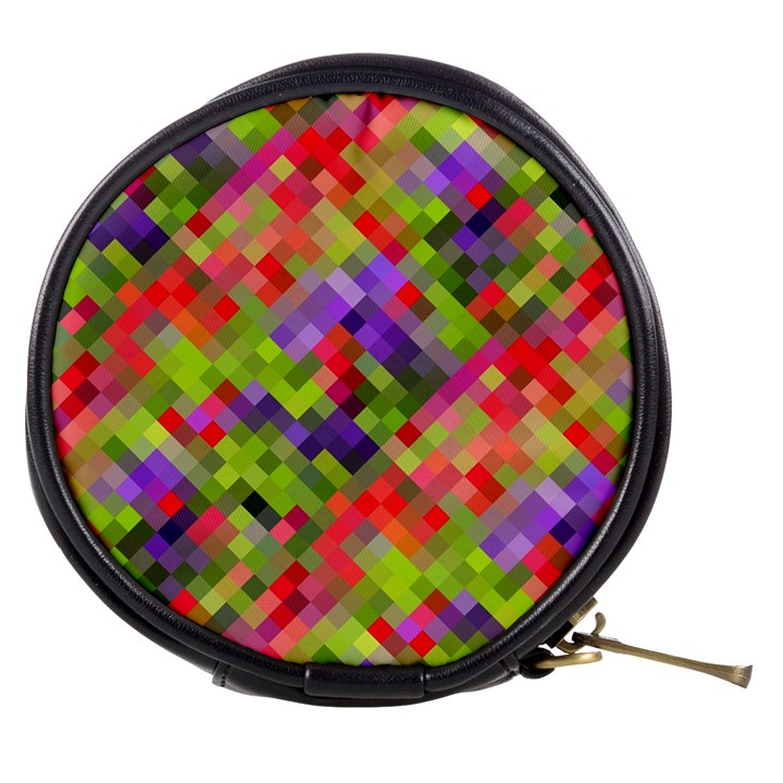 Colorful Mosaic Mini Makeup Bags