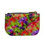 Colorful Mosaic Mini Coin Purses Back