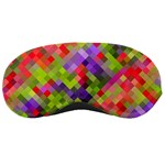 Colorful Mosaic Sleeping Masks Front