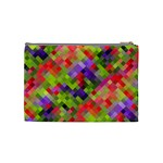Colorful Mosaic Cosmetic Bag (Medium)  Back