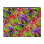Colorful Mosaic Cosmetic Bag (XL) Back
