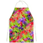 Colorful Mosaic Full Print Aprons Front