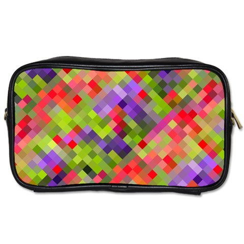 Colorful Mosaic Toiletries Bags 2-Side