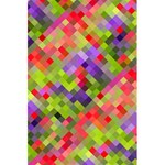 Colorful Mosaic 5.5  x 8.5  Notebooks Back Cover Inside