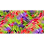 Colorful Mosaic Magic Photo Cubes Long Side 3