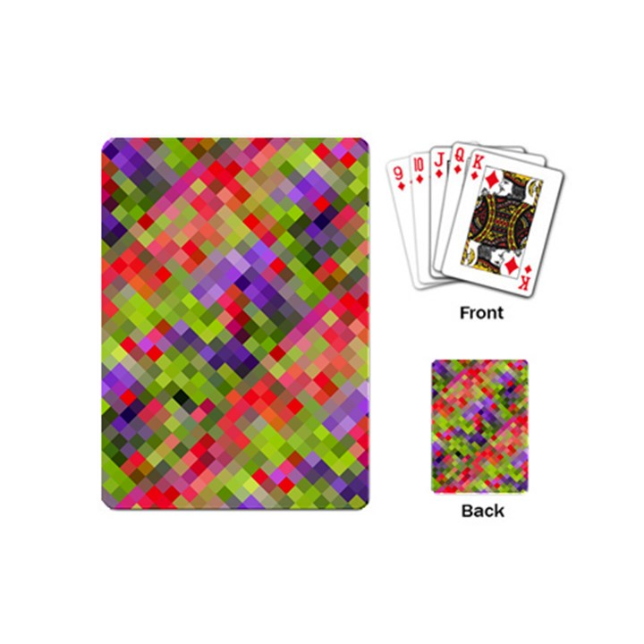 Colorful Mosaic Playing Cards (Mini)