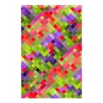 Colorful Mosaic Shower Curtain 48  x 72  (Small)  42.18 x64.8 Curtain