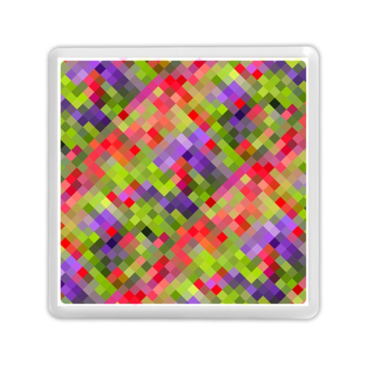 Colorful Mosaic Memory Card Reader (Square)