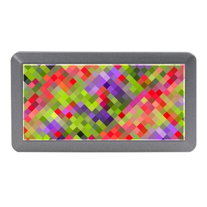 Colorful Mosaic Memory Card Reader (Mini)
