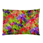 Colorful Mosaic Pillow Case (Two Sides) Front