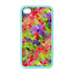 Colorful Mosaic Apple iPhone 4 Case (Color) Front