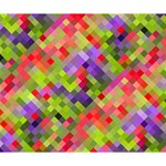 Colorful Mosaic Deluxe Canvas 14  x 11  14  x 11  x 1.5  Stretched Canvas