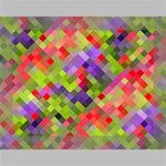 Colorful Mosaic Deluxe Canvas 16  x 12   16  x 12  x 1.5  Stretched Canvas
