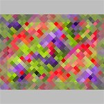 Colorful Mosaic Deluxe Canvas 18  x 12   18  x 12  x 1.5  Stretched Canvas