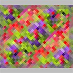Colorful Mosaic Deluxe Canvas 24  x 20   24  x 20  x 1.5  Stretched Canvas