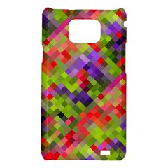 Colorful Mosaic Samsung Galaxy S2 i9100 Hardshell Case