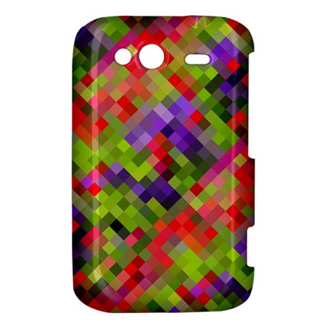 Colorful Mosaic HTC Wildfire S A510e Hardshell Case