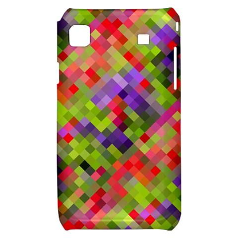 Colorful Mosaic Samsung Galaxy S i9000 Hardshell Case