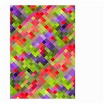 Colorful Mosaic Small Garden Flag (Two Sides) Back