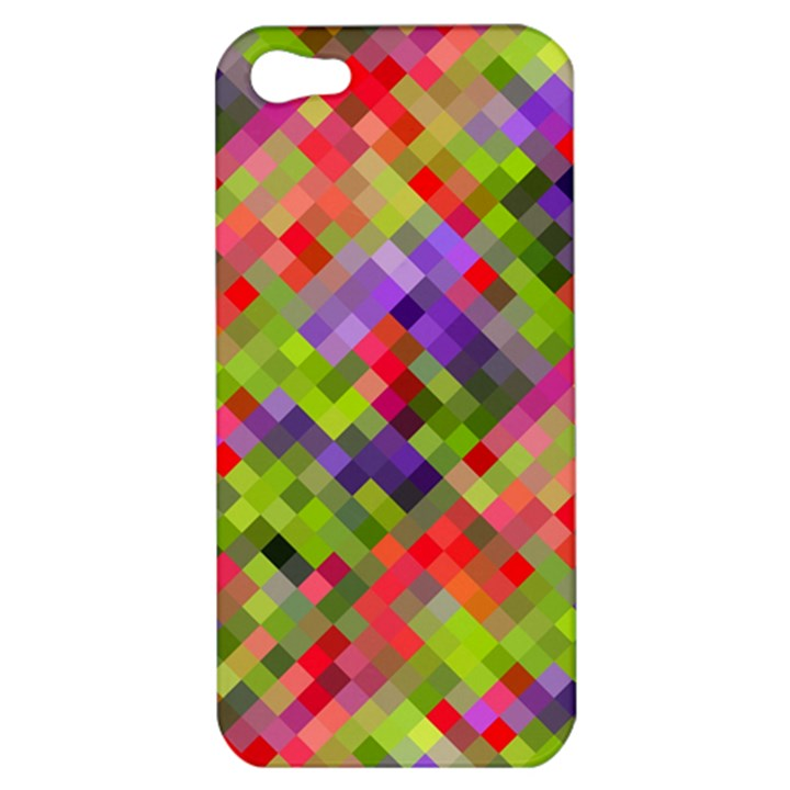 Colorful Mosaic Apple iPhone 5 Hardshell Case
