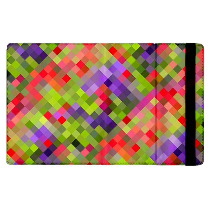 Colorful Mosaic Apple iPad 2 Flip Case