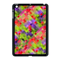 Colorful Mosaic Apple Ipad Mini Case (black)
