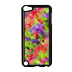 Colorful Mosaic Apple iPod Touch 5 Case (Black) Front